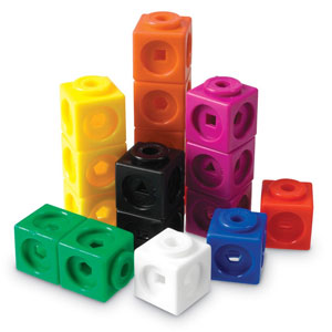 Learning Resources Mathlink Cubes - 100