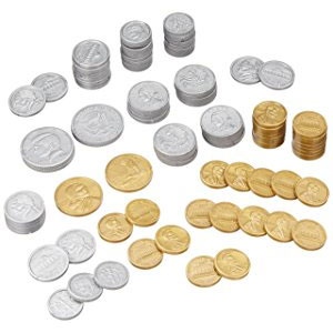 Learning Resources Play Money Coin Set
