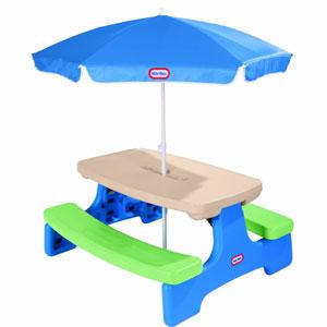 Picnic Table with Umbrella