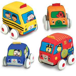 Melissa & Doug Ks Pull-Back Vehicle Set