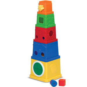 Melissa & Doug Ks Kids Stacking Blocks