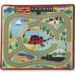 Melissa & Doug The Town Road Rug