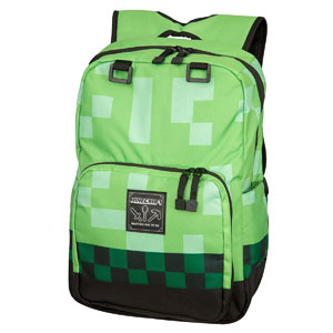 Minecraft Creeper Kids Backpack