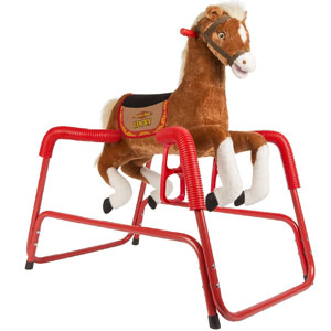 Plush Spring Horse