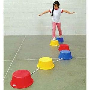 School Smart Stepping Buckets Balance Builders
