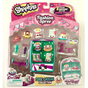 Shopkins Fashion Spree Pack