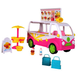 Shopkins Series 3 Scoops Ice Cream Truck