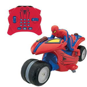 Spider Man U-Command Motorcycle