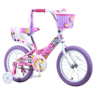 Titan Girls Flower Princess 16 inch BMX Bike