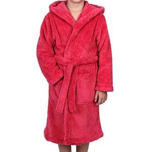 TowelSelections Robe à capuche pour filles