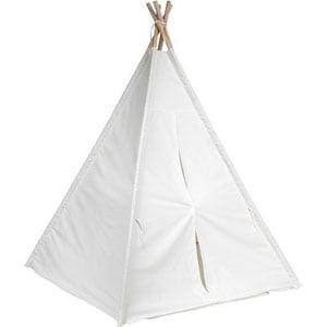 Trademark Innovation 6 White Canvas Teepee