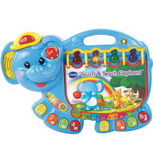 Touch & Teach Elephant Book