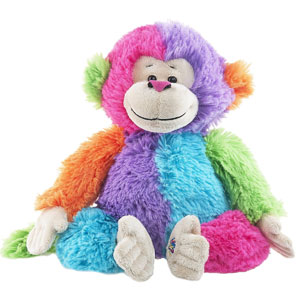 Webkinz Colorblock Monkey Plush