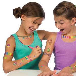 ALEX Toys Color & Sparkl​e Tattoos