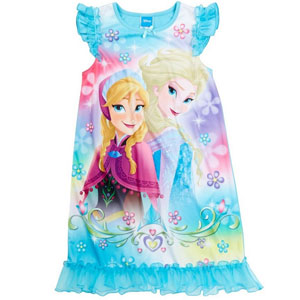 Disney Sparkly Frozen Nightgown