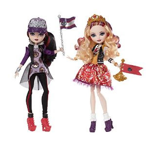 Ever After High School Spirit Apple White & Raven Queen Doll