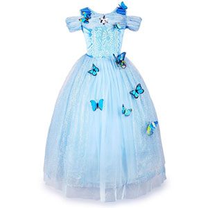 JerrisApparel Cinderella Dress Princess Costume