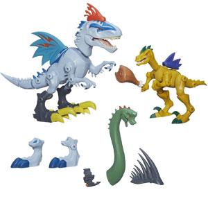 Indominus vs. Velociraptor