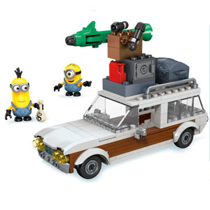 Mega Bloks Minions Wagon