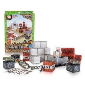 Minecraft Minecart Papercraft