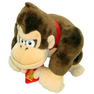 Nintendo Official Super Mario Donkey Kong Plush