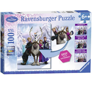 Ravensburger Disney Frozen Difference Hidden Changes