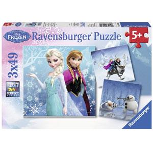 Frozen Winter- 3 x 49-Piece