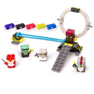 Sick Bricks, 3 - in - 1 Power Up Playset