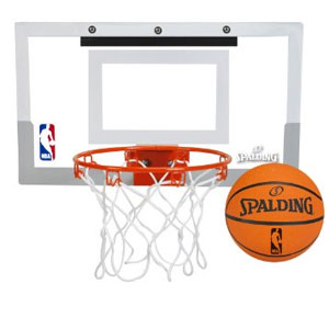Spalding NBA Mini Basketball Hoop