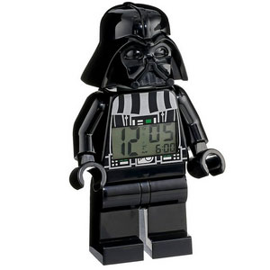 LEGO Kids Star Wars Darth Vader Mini-Figure Alarm Clock
