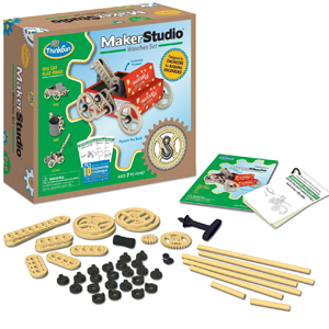 ThinkFun Maker Studio Winches