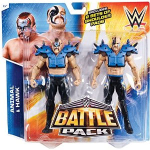 WWE  Animal vs. Hawk