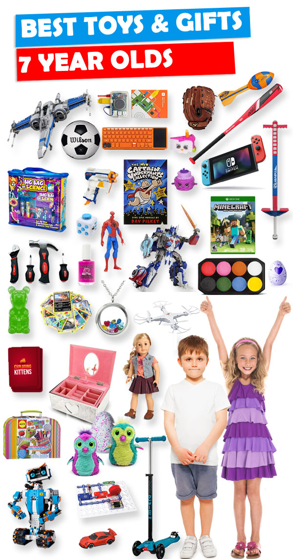 Toys For 7 Years : Best toys and gifts for year olds toy buzz