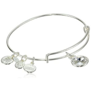 Alex and Ani Birthstone Bangle