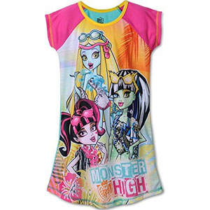 Big Girls Monster High Nightgown