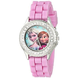 Disney Frozen Anna and Elsa Rhinestone Watch