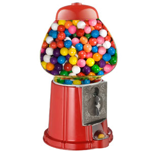 Great Northern 15-Inch Gumball Machine