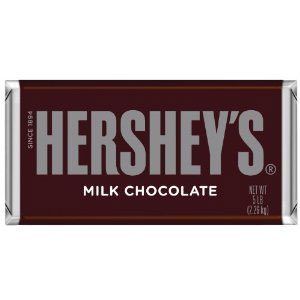 Hershey's Milk 5-Pound Chocolate Bar