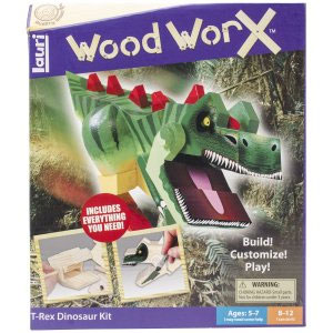 Lauri Toys Wood WorX T-Rex Kit