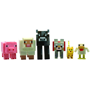 Minecraft 6 Pack Animal Figures