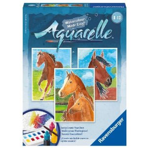 Ravensburger Aquarelle Horses Arts and Crafts Kit