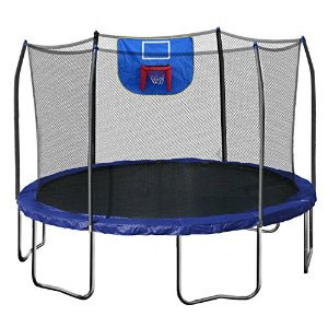 Skywalker 12-Feet Jump N' Dunk Trampoline