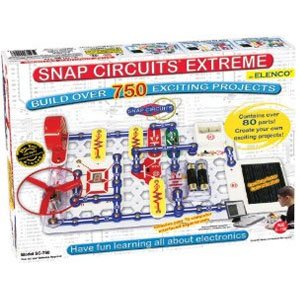 Snap Circuits Extreme SC-750 Electronics Kit