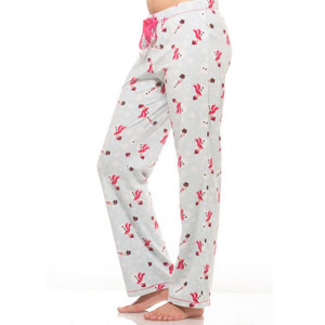 Alkii Winter Fleece Pajama Pants