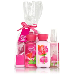 Bath and Body Sweet Pea Spa Gift Set