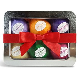 Bath Bombs Gift Set by Rejuvelle