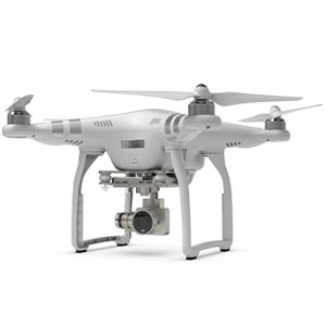 DJI Phantom 3 Quadcopter Drone With 1080p HD Video Camera