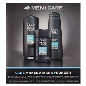 Dove Men+Care Hygiene Kit