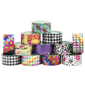 Duck Brand Assorted Print Duck Tape