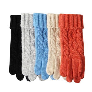 ELMA Touchscreen Wool Knit Gloves